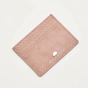 Card Holder - Pink Snake