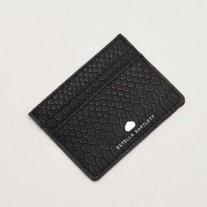 Card Holder - Black Snake