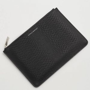 Medium Pouch - Black Snake