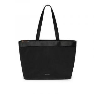 The Scoresby Wide Tote Bag - Black - Nylon