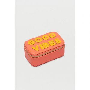 Mini Jewellery Box - Applique - Good Vibes
