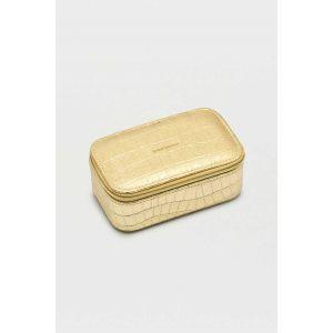 Mini boîte à bijoux - Or métallisé