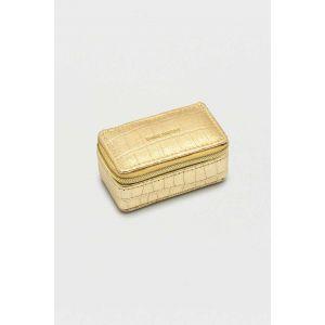 Boîte à bijoux Tini - Or métallique
