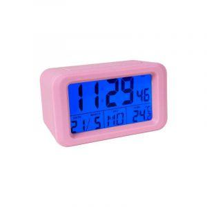 Pink Digital Alarm Clock