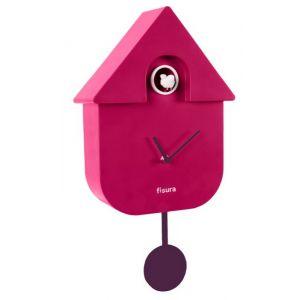 Horloge coucou Orchidée
