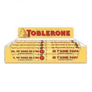 Display Comptoir Toblerone 100g Father's Day Français, 40 pcs, 4 textes différents