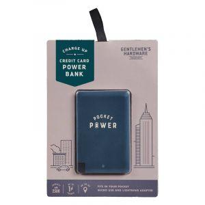 Batterie de secours format carte de crédit 'Pocket Power'