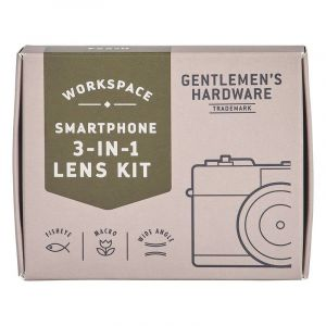 Smart Phone 3 in 1 Photo LensKit - with Black Clip