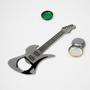 Porte-clé décapsuleur guitare