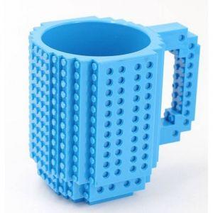 Build-On DIY Blue Mug