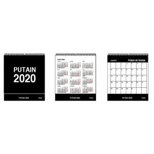 Putain Desk Calendar 2020 FR