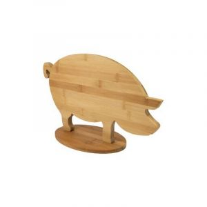 Planche à découper en bambou, 'Cochon'