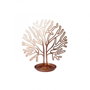 Porte-bijoux en forme d'un arbre, corail