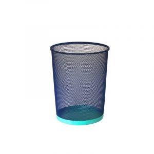 Corbeille, bleu & menthe