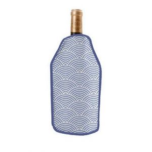 Sac rafraichsseur pour bouteille de vin 'Art Deco'