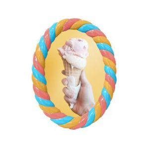 Photo frame polyresin 'Candy'