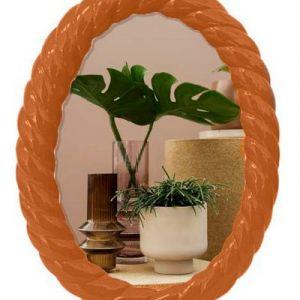 Photo frame polyresin 'Terracota'
