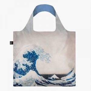 Sac RECYCLE Avec Pochette Zip Artist KATSUSHIKA HOKUSAI  The Great Wave (La vague)