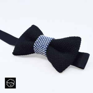 YUMI CHILDREN BOW TIE - dark blue | ice blue