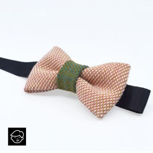 YUMI CHILDREN BOW TIE - pink | dark green
