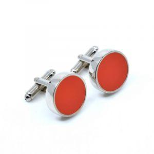 YUMI Boutons de manchette - orange