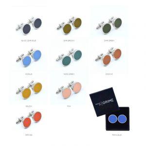 YUMI Boutons de manchette Set - toutes couleurs - 10PC