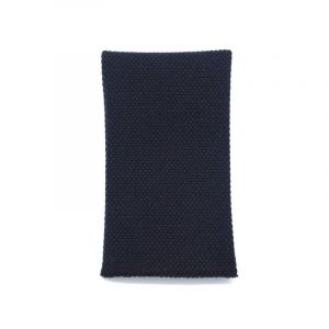 YUMI POCKET SQUARE - dark blue