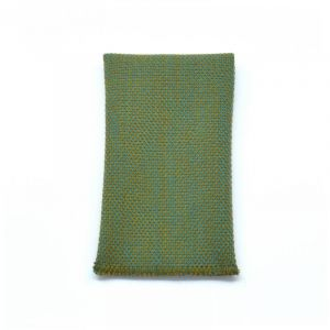 YUMI POCKET SQUARE - dark green