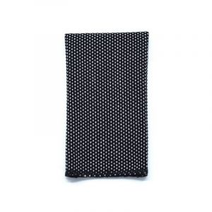YUMI POCKET SQUARE - black