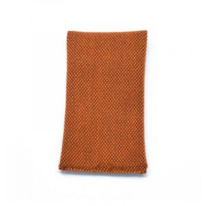 YUMI POCKET SQUARE- cognac