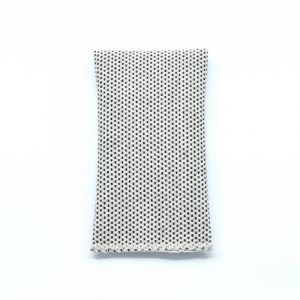 YUMI POCKET SQUARE - white
