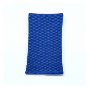 YUMI POCKET SQUARE - royal blue