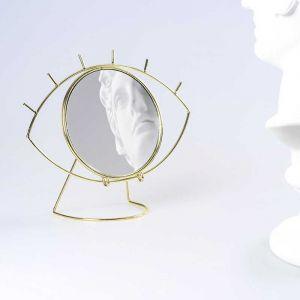 Miroir à poser 'Cyclope', doré