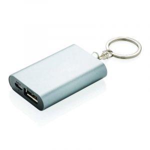 Porte-clés powerbank 1000mAh, anthracite