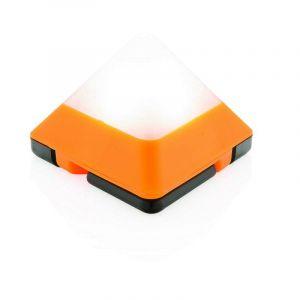 Mini lampe triangulaire, orange