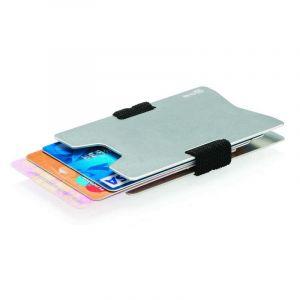 Portefeuille minimaliste RFID, argent