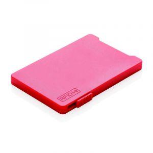 Porte-cartes anti-RFID , rouge