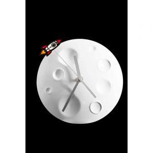 Horloge Lunaire avec fusée