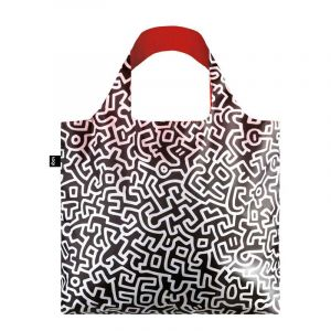 Sac avec pochette zip Keith Haring Untitled