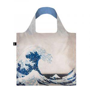 Sac avec pochette zip HOKUSAI La grande vague 1831
