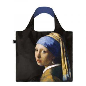 Sac avec pochette zip JOHANNES VERMEER La jeune fille à la perle c.1665
