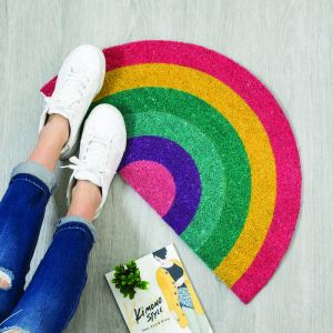 Doormat 'Rainbow' Multicolor
