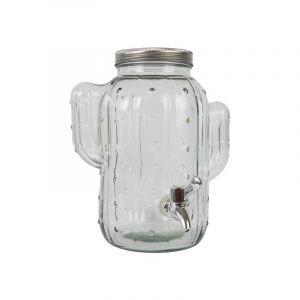 Cactus Dispenser - clear glass