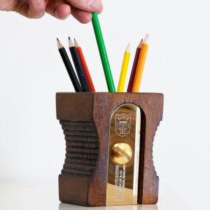 Pot à crayons 'Taille-crayon', foncé
