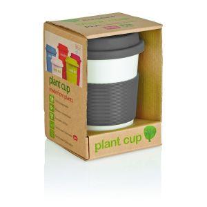 Tasse à café en PLA, gris