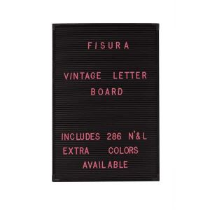 286 lettres roses pour tableau vintage