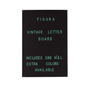 286 lettres vertes pour tableau vintage