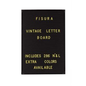 286 lettres jaunes pour tableau vintage