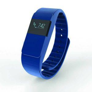 Bracelet connecté Keep fit, bleu marine