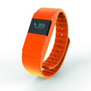 Bracelet connecté Keep fit, orange